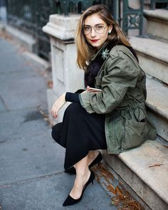 On the Street...East Fourth St., New York, one of the exclusive pictures shot by Scott Schuman in New York for Faces by The Sartorialist.