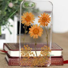 Unqiue real pressed flower iphone case iphone 4s case by fcwonders, $13.99