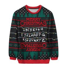Absolute best TV and film Christmas jumpers - from Stranger Things to Star Wars Stranger Things Christmas Sweater, Funny Christmas Jumper, Best Christmas Jumpers, Christmas Sweater Dress, Christmas Sweaters, Christmas Clothes, Office Christmas, Christmas Parties, Christmas Eve