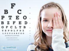 Najpogostejši razlog, zaradi katerega pridejo otroci na pregled oči, je dioptrija (kratkovidnost, daljnovidnost, astigmatizem).