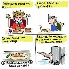 Desayuna como un rey... @HistCotidianas por Alejandra Aceves.