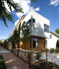 """Arquitectura """"Shield House"""" de Studio H:T, Denver Colorado. http://www.arquitexs.com/2012/04/shield-house-studio-ht.html"""