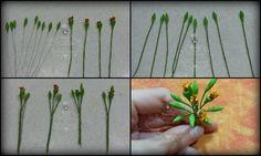 Flowers tutorials #1: How to make a lifelike gumpaste poinsettia - CakesDecor
