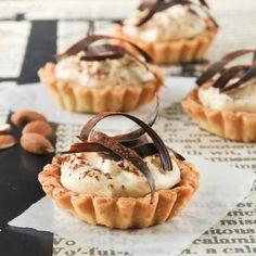 Tartaleta con chocolate y crema de jijona - L´Exquisit