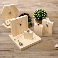 >> Click to Buy << lot of 5 Solid Wood Jewellery Display Block Nature Jewelry Display Holder Jewelry Display Block #Affiliate #jewellerydisplay