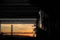 November light | por Mayer 8 Portugal, George Washington Bridge, November, Public, Travel, Lisbon, November Born, Viajes, Destinations