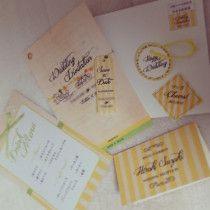 手作り招待状の作り方 |nico◡̈*blog 手作り結婚式