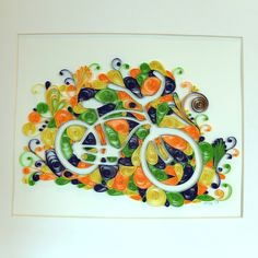 Robin Milne - Paper Cycles, paper quilling
