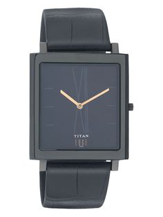 Men's Ultra Slim Square Analog Watch from Sporty Watches Feat. Titan Edge on Gilt
