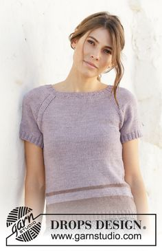 Ravelry: Lonely Horizon pattern by DROPS design Sweater Knitting Patterns, Knit Patterns, Clothing Patterns, Knitting Gauge, Free Knitting, Drops Design, Hand Crochet, Knit Crochet, Rowan Felted Tweed