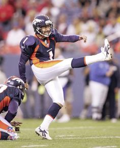 Jason Elam Denver Broncos - Our all time greatest kicker!