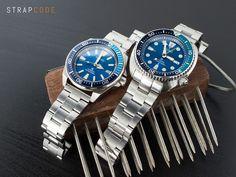 #MiLTAT #SuperOyster bracelets look nice on Seiko Samurai & Turtle #strapcode