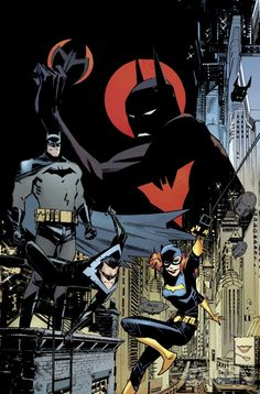 Batman Beyond and Justice League Beyond Get New Creative Teams