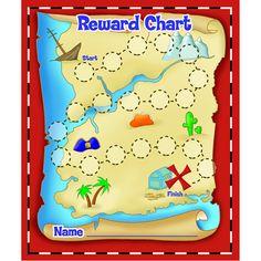 TREASURE HUNT MINI REWARD CHARTS