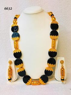 Short Necklace, Necklace Set, Beaded Necklace, Gold Necklace, Metal Jewelry, Gold Jewelry, Jewelry Necklaces, African Necklace, Big Earrings