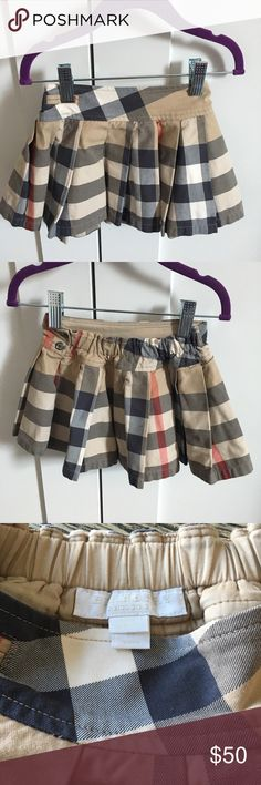 Burberry skirt 2T Pre owned skirt in great condition, runs small. Size 2t. Burberry Bottoms Skirts