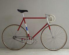 Retro bike, fixed gear