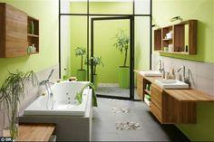 Tropical bathroom - Google search