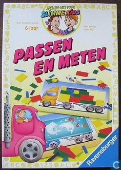 Spellen - Passen en meten - Passen en meten Erg leuk spel om te spelen, ook voor papa en mama :)