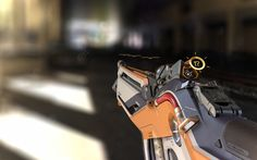 Assault Rifle 'Omnitech AR-5A', Daniel Solovev on ArtStation at https://www.artstation.com/artwork/QYQyE