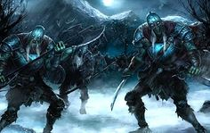 Draugr (Norse mythology) - undead Vikings who possess superhuman strength