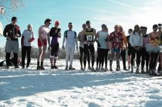 Beer Mile - The basic beer mile works like this: Drink a 12-ounce beer, run a lap of a 400-meter track, repeat until you've had four beers and covered a mile. Vomiting results in a penalty lap - Our Favorite Crazy Races | Runner's World