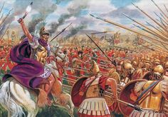 The Battle of Asculum took place in 279 BC between the Romans under the command of Consul Publius Decius Mus and the combined Tarantine, Oscan, Samnite, and Epirote forces, under the command of the Greek king Pyrrhus of Epirus. The battle occurred during the Pyrrhic War for control of Magna Graecia.