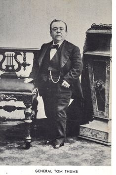 General Tom Thumb Vintage Postcard by @theheritageohio on Etsy, $14.95 #vintage #realphoto #postcards