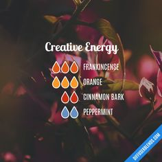 Creative Energy — Essential Oil Diffuser Blend