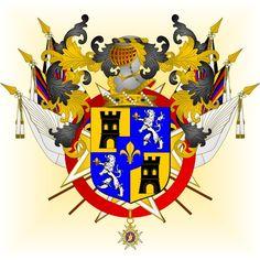 De LA TOUR-CHÂTILLON_Famille / Baron de Zurlauben / Armorial de l'Ordre de Saint-Louis: août 2013