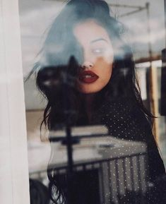 cindy kimberly, beauty, and red lips image