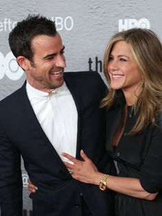 Pin for Later: This Week's Can't-Miss Celebrity Pics!  Justin Theroux and Jennifer Aniston attended the premiere of The Leftovers at the NYU Skirball Centre.