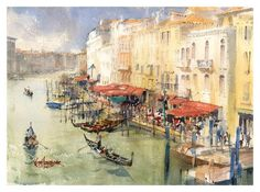 Keith Hornblower Watercolours
