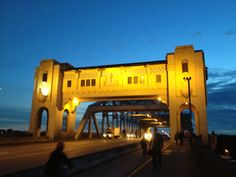 Burrard street bridge is iconic
