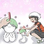 Aweeee precious bab💕 eating cake, getting love, and just being a cute bab. remember when Ruby had his ralts? Yeah he did that ralts very dirty 😂😤 I love ralts, its adorable and its got a good evolutionary line. . 💫Artist: 3920kashiwa💫 . 🌟Twitter🌟 . #pokespe #pokemon #dexholders #anime #manga #red #green #blue #yellow #gold #silver #crystal #ruby #sapphire #emerald #platinum #pearl #barry #diamond #white #black #bw #lacktwo #whitwo #sun #moon #fanart #art #digitalart
