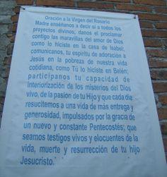 La Piedad. Fiesta en Infonavit. Una oración en la pared del templo en construcción