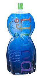 spout pouch liquid packaging design #glass #bottle #bouteille #verre #spout #pouch #sacs #plastiques #plastic #bags #emballage #souple