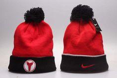 new concept 4e296 55033 Men s   Women s Nike Kobe X Elite Low Draft Pick Sneakers Matched Knit Pom  Pom Beanie Hat - Red   Black