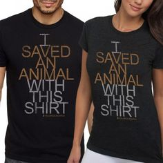 """The purchase of the """"SAVE"""" short sleeve tee sparks a $5 donation to directly help Molly. Molly was used as a bait dog in a dog fighting ring and was tied in a basement left to die. Neglected, abused and emaciated, Molly needs our help!    Made from 60% combed cotton/40% polyester, the """"SAVE"""" short-sleeve tee is available for TODAY ONLY! Help save Molly by purchasing the """"SAVE"""" tee!"""