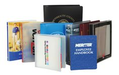 #business #office #custom Custom poly binders - The highest quality of polyethylene is an extremely lightweight and heavy-duty substance. Ring binders made with polyethylene are grease and scuff resistant, and temperature variations do not affect them.