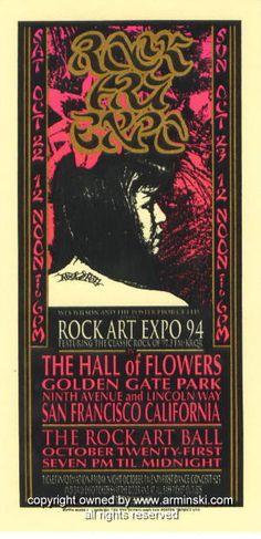 1994 Rock Art Expo Handbill by Mark Arminski (MA-010)