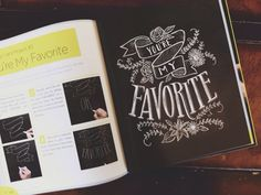 Image result for chalk lettering book Chalk Lettering, My Favorite Things, Books, Cards, Image, Libros, Book, Map, Book Illustrations