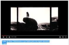 """Alberto Carneiro - Trailer do filme """"Dificilmente o que habita perto da origem abandona o lugar"""" https://www.youtube.com/watch?v=xYOYLgI7kvY"""