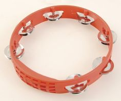 Latin Percussion LPA181 8 Inch Tambourine Red by Latin Percussion. $13.34. Colorful plastic body and brightly toned jingles. Save 22% Off!