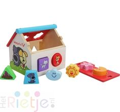 29084118e0816b Babyzaak Het Rietje: Groot assortiment Woezel en Pip houten speelgoed