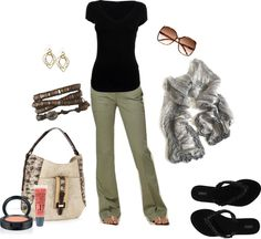 On the go., created by beckijoko on Polyvore