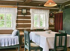 Valance Curtains, Cottage, Home Decor, Decoration Home, Room Decor, Cottages, Cabin, Home Interior Design, Valence Curtains