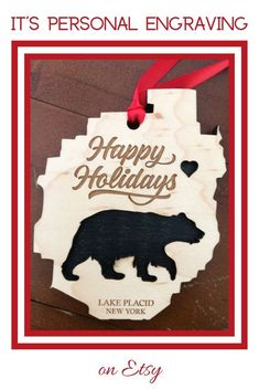 Our wooden ornaments are laser cut from real hardwood. They are made from two different pieces of wood for a beautiful dimensional effect. All designs can be personalized to fit your needs. They are perfect as gifts and for your Christmas Tree! #woodornament #woodenornament #customornament #forfamily #familyornament #asgifts #forcouple #forparents #familyvacationornament #personalizedornament #christmaswedding #fornewlyweds #holidaydecor #christmasdecorations #fundraiserideas #forgiftshops