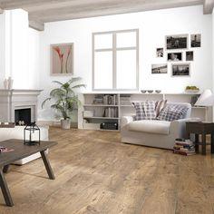 Quickstep Perspective Wide 4V Reclaimed Chestnut Antique Laminate Flooring