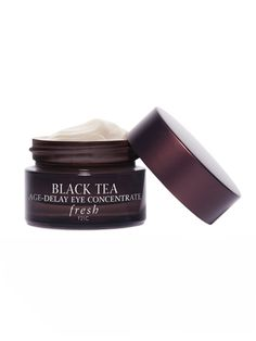 For depuffing: Fresh Black Tea Age Delay Eye Concentrate
